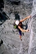 Rock Climbing Photo: Kahl Wall lower dihedrals.