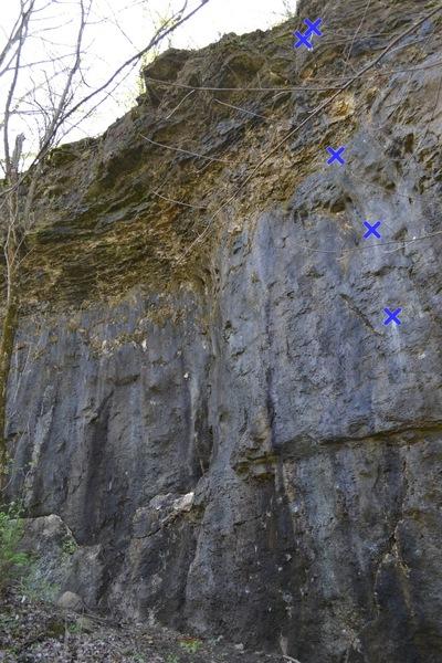 Rock Climbing Photo: Tire Fire 5.11a