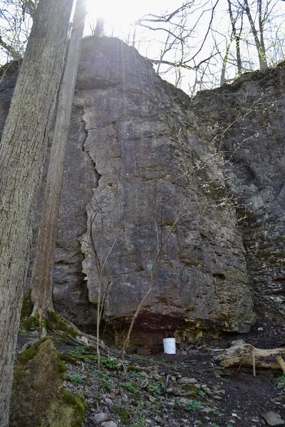 Rock Climbing Photo: S Crack (5.7) and J-Ella (5.10b)