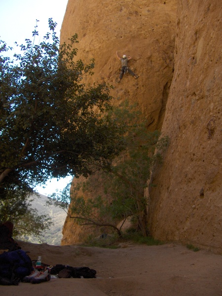 Rock Climbing Photo: It was way harder than 11a/b in my opinion..