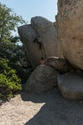 Rock Climbing Photo: A friend warming up on Thin Crack.
