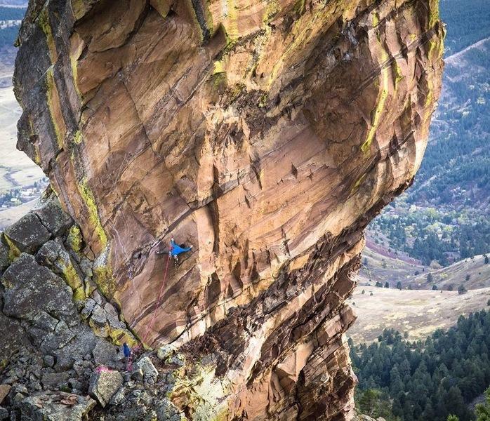 Rock Climbing Photo: Cheating Reality.  Photo by Rob Kepley.