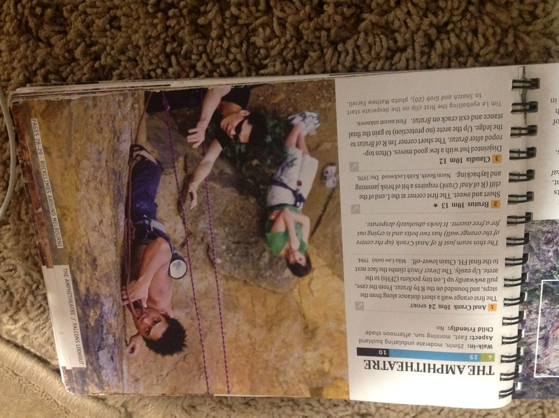 Rock Climbing Photo: Guide book