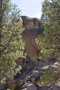 Rock Climbing Photo: Orange Zig Zag.
