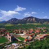 Boulder CO, a city nestled up to those Flatties!