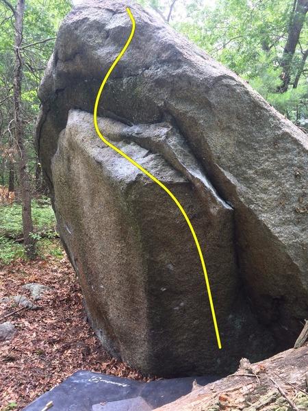 Rock Climbing Photo: The Fin