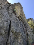 Rock Climbing Photo: Start of the 5.7 version