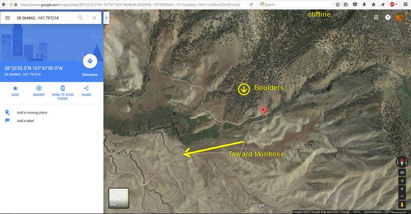 Google Earth photo zoomed.