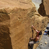 Asharp V2, Climber Dave Spies - Photographer Kopavi Rubens