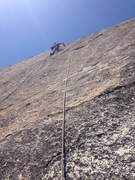 Rock Climbing Photo: Bolting on lead, no hooks, all stances!