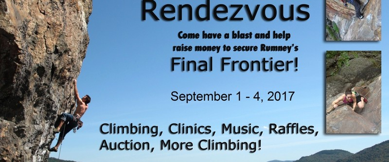 This years Rumney Rendezvous - pass the word!