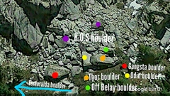 Rock Climbing Photo: Area Beta Photo