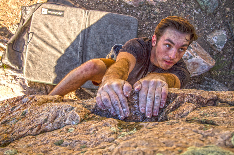 Rock Climbing Photo: Kaden