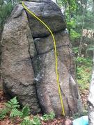 Rock Climbing Photo: Seven, Eight, Nine