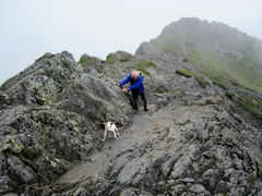 Rock Climbing Photo: Halls Fell June 2017