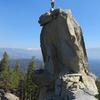 On the summit block!