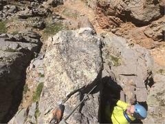Rock Climbing Photo: The small summit.