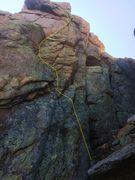 Rock Climbing Photo: A topo.