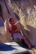 Rock Climbing Photo: John Stears aka Uncle Shred on his namesake proble...