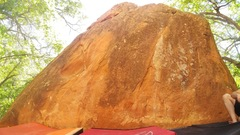 Rock Climbing Photo: East face of Jelly Boulder