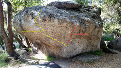 The Great Stone Face main boulder