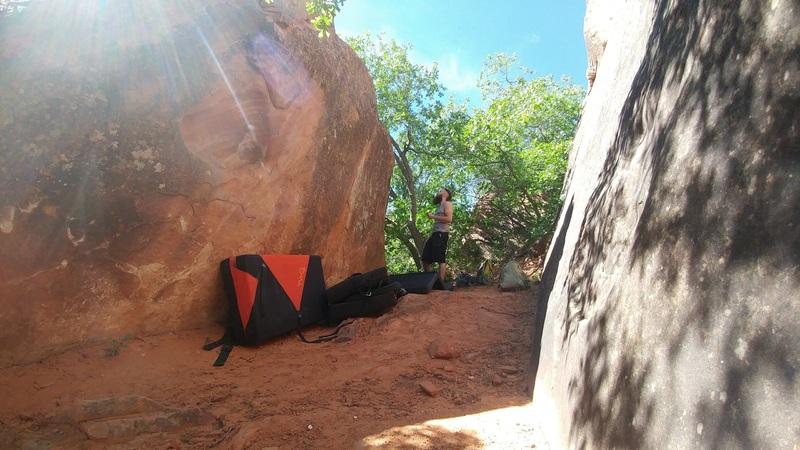 Rock Climbing Photo: Jelly Boulder