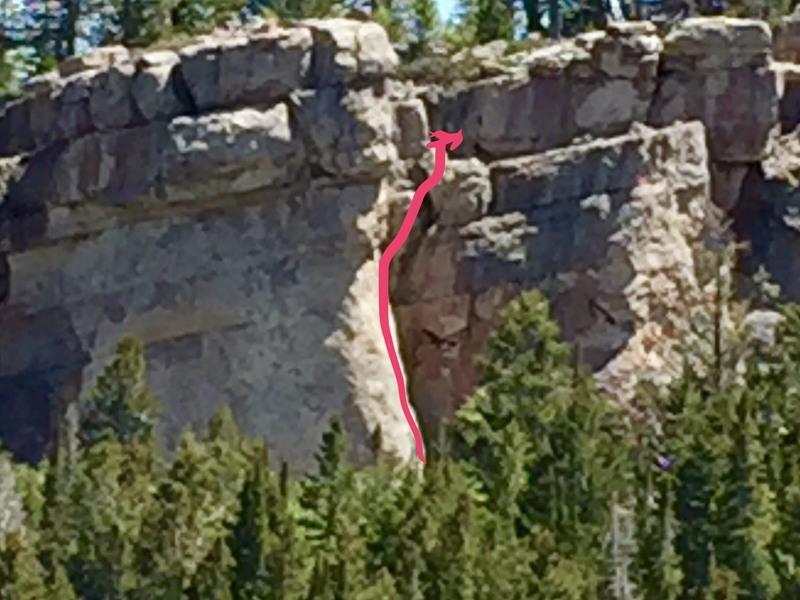 Rock Climbing Photo: As seen from the Aspen Glades