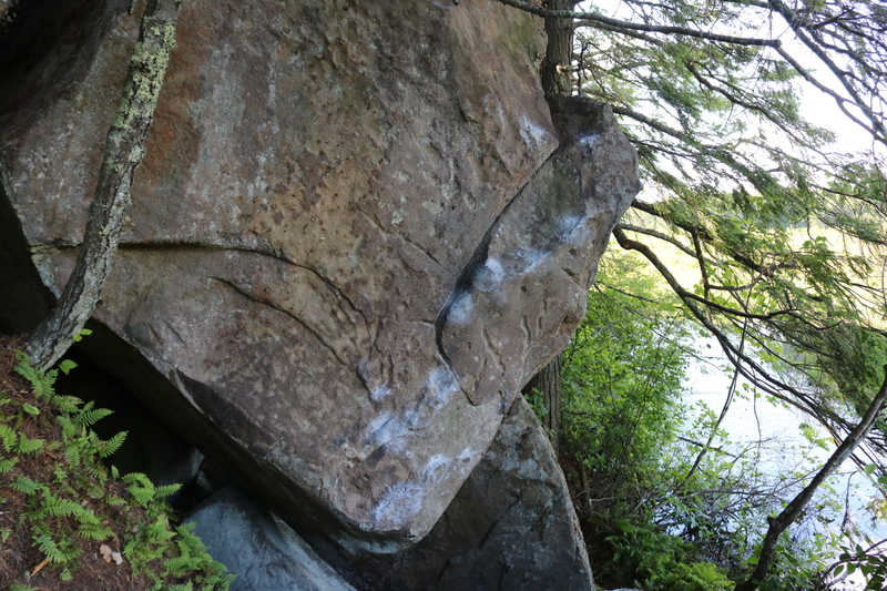 Rock Climbing Photo: Awesome Boulder!