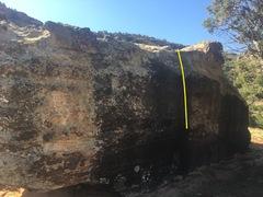 Rock Climbing Photo: Beta for Celebratory Toke.
