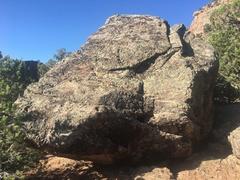 Rock Climbing Photo: East side of the Something Something Boulder.