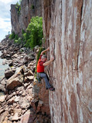 Rock Climbing Photo: Sinner's Last Gift. July 3, 2017. Photo: Ellen Bro...