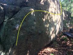 Rock Climbing Photo: Slug Traverse