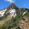 Where the trail meets the ridge