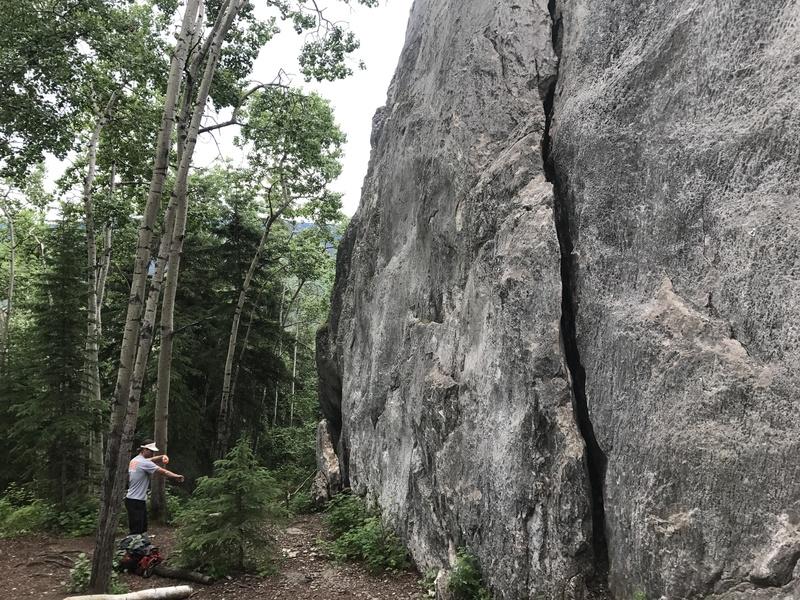 First crag