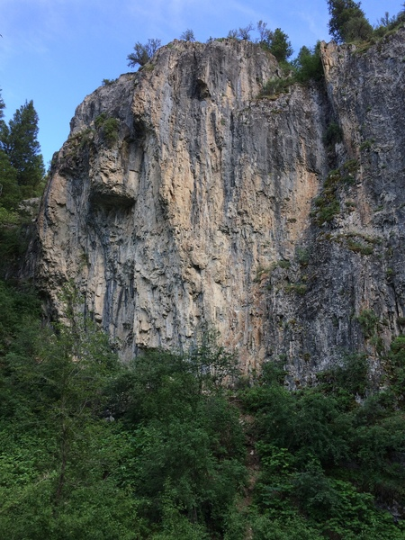 Rock Climbing Photo: Blacksmith Left