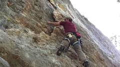 Rock Climbing Photo: Eight Flake (Reimers Ranch)