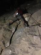 Night climbing at Gus Fruh!