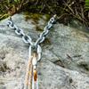 Anchors at the top of this climb