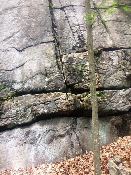 Rock Climbing Photo: Start of Finny