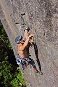 Rock Climbing Photo: Chandler Davis on p4 Photo Ryan Hoover