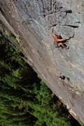 Rock Climbing Photo: Mike Rynkiewicz p6  Photo Ryan Hoover  FFA 7-1-1...