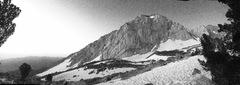 Rock Climbing Photo: Black and white alpine delight!