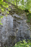 Rock Climbing Photo: Slippery When Wet (5.10a)