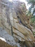 Rock Climbing Photo: FA on TR.