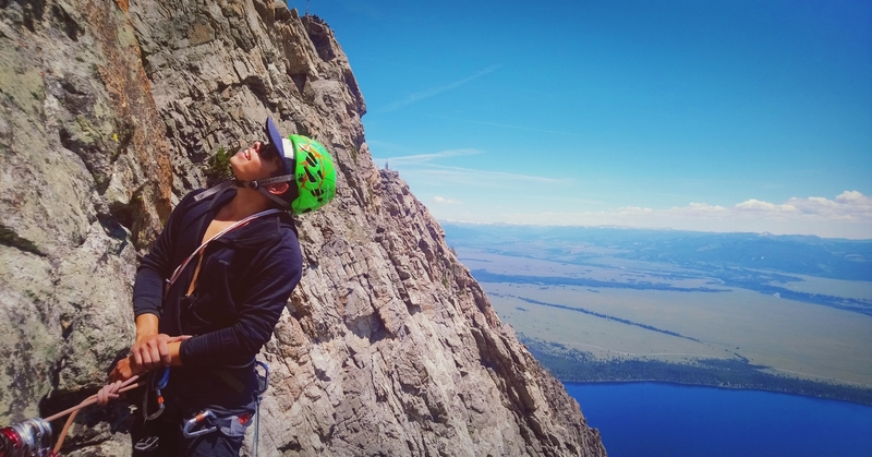 Jenny Lake 3,000' below