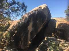 Rock Climbing Photo: The Dinkling Block's north face.