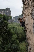 Rock Climbing Photo: Yangshuo, China