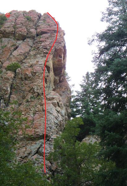Rock Climbing Photo: The DNR.