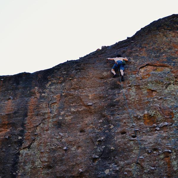 Rock Climbing Photo: Super fun leading Subterranean Tango