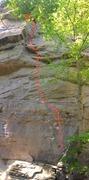 Rock Climbing Photo: Gauley Roger